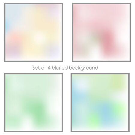 Mash blured background unfocused light set abstract