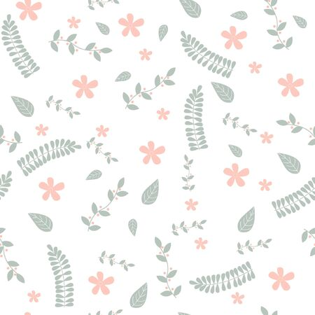 floral pattern flowers soft colors
