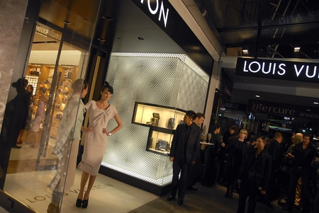 Louis Vuitton store opening