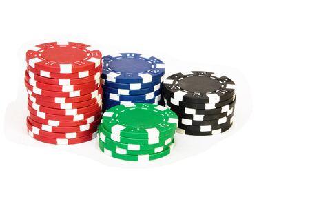 Casino Chips Stock Photo - 8975089