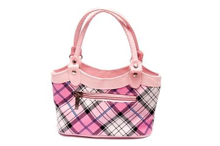 pink handbag Stock Photo - 8974696