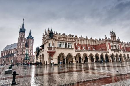 hdr image de Cracovie