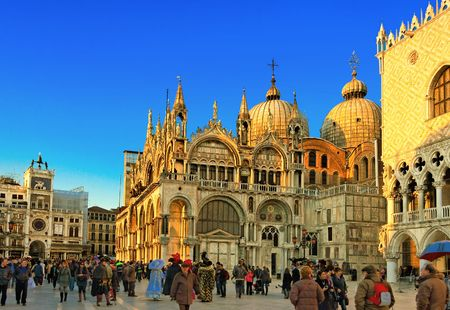 Famous square San Marco in Venice Italy Stock Photo - 6102040