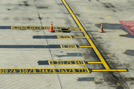 Airplane Apron Markings