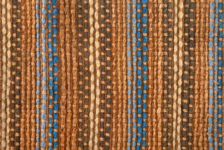floor rug: rough textured multi-coloured floor rug
