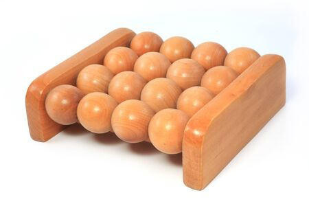 Wooden Manual Foot Massager photo