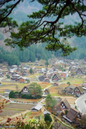 ogimachi: Ogimachi Village in Shirakawago