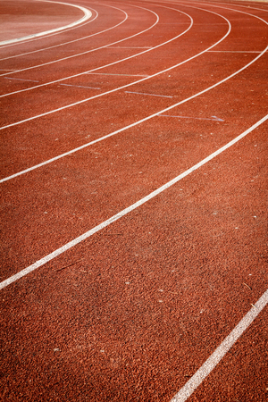 number on running track Stock Photo - 28246511