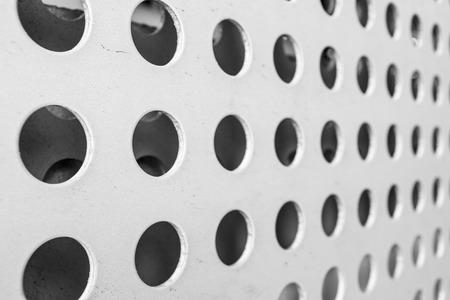 malla metalica: malla de metal Patrón sin fisuras Foto de archivo