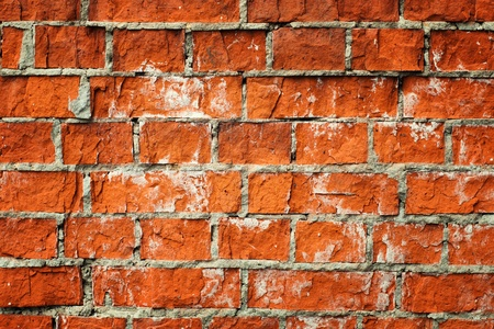 Old red brickwall background Stock Photo - 9986022