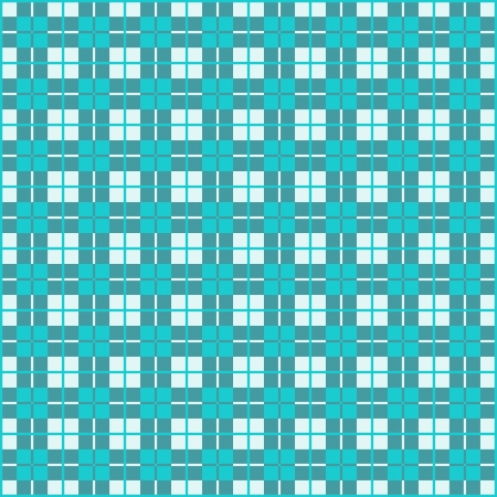 Old fashioned gingham check pattern in teal for scrapbooks, restaurants, fabrics, arts, crafts and decorating  Pattern swatch will seamlessly fill any shape Stock Vector - 16298935