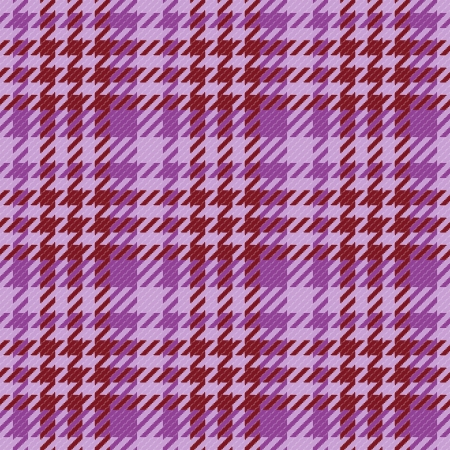 Old fashioned gingham check pattern in violet color for scrapbooks, restaurants, fabrics, arts, crafts and decorating  Pattern swatch will seamlessly fill any shape   Vector
