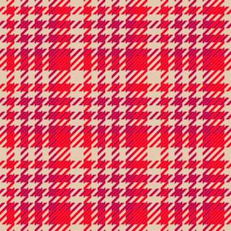 Old fashioned gingham check pattern in red color for scrapbooks, restaurants, fabrics, arts, crafts and decorating  Pattern swatch will seamlessly fill any shape   Stock Vector - 16400264