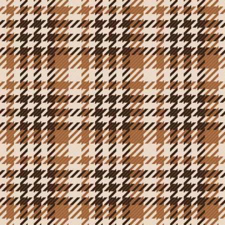 Old fashioned gingham check pattern in warm brown color for scrapbooks, restaurants, fabrics, arts, crafts and decorating  Pattern swatch will seamlessly fill any shape  Stock Vector - 16400263