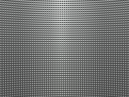 metal grid: Shiny metal background with circles