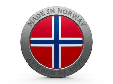 Emblem - made in Norway photo