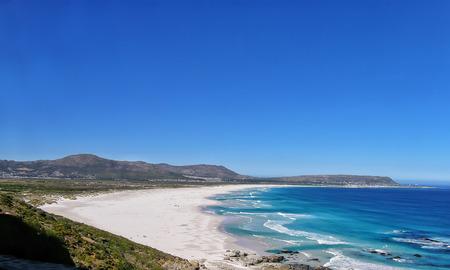 Waves on the Noordhoek Beach, South Africa
