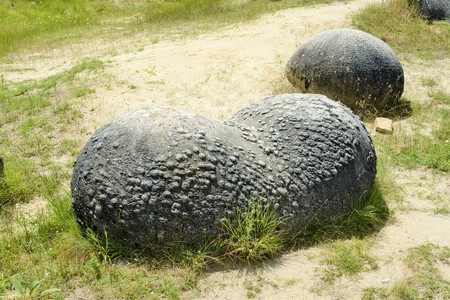 inexplicable: Trovantii  the strangest living stones in Romania. Trovanii are sandstone formations with a texture more solid than the layer they grow in. They tend to grow spontaneous,