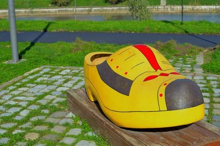 klompen: Dutch wooden shoe