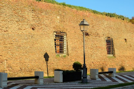 the eighteenth: Alba Carolina Citadel is a fortress with towers built in the early eighteenth century in the medieval town of Alba Iulia Hill Citadel.