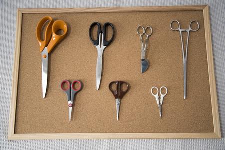 Scissors set, scissors of different sizes