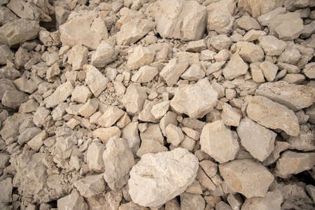 Crushed stone aggregate in Croatia. Croatia is a country rich in sedimentary rocks due to its geological history