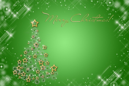 Christmas greeting card Stock Photo - 8613537