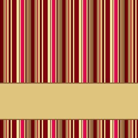 banding: retro striped background with place for text