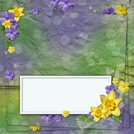 Spring Framework for invitation or congratulation  photo