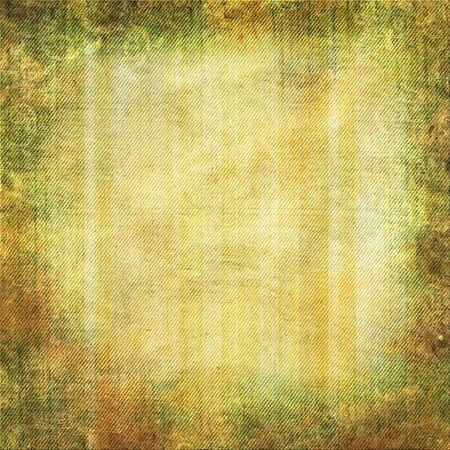 grimy: Grunge yellow - green background with swirl border