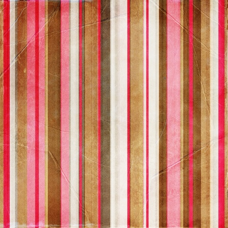 vintage striped paper Stock Photo - 9768697