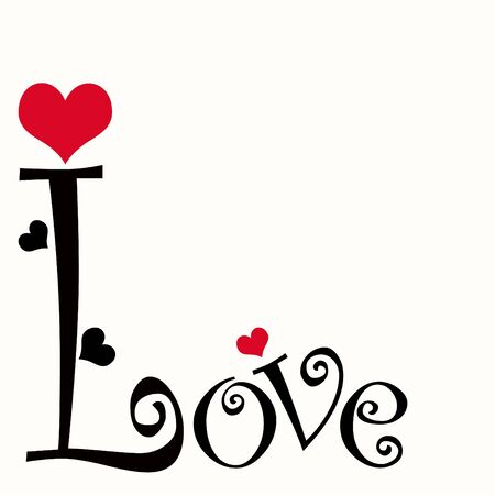 Love Text  Stock Photo - 9768715
