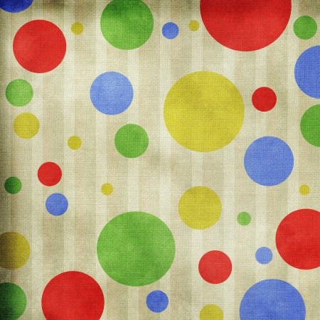 circles on striped background Stock Photo - 10134575