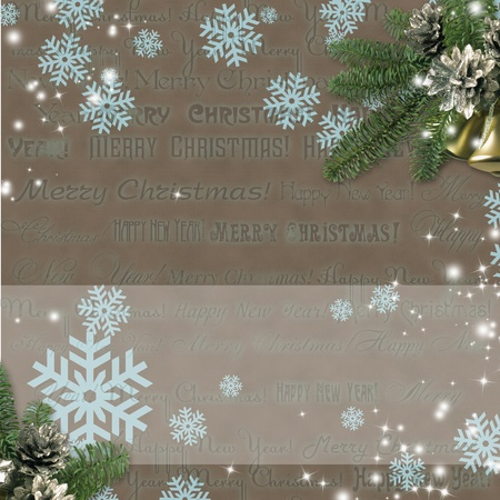 Christmas background Stock Photo - 10134577
