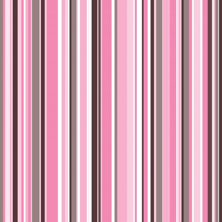 pink ribbons: retro white, grey and pink stripes