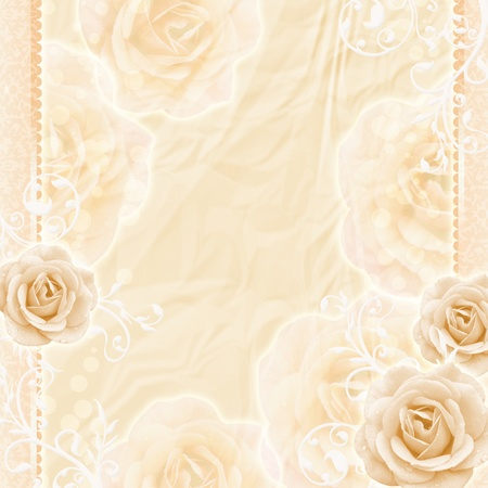 Beautiful Roses Background Stock Photo - 10848124