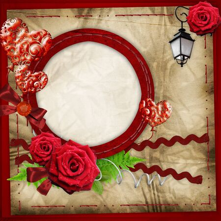 valentine frame  photo