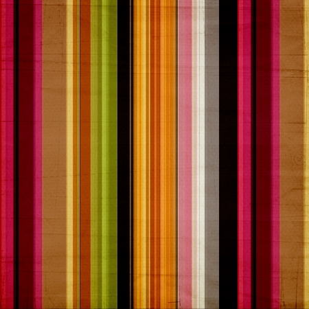 Shabby textile Background with colorful  stripes  Stock Photo