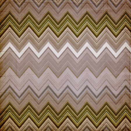 Shabby textile background bright and colorful made of zig zag stripes  photo