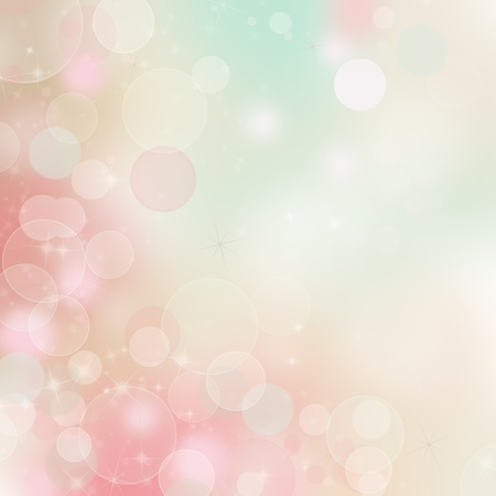 pastel background: Beautiful Bokeh