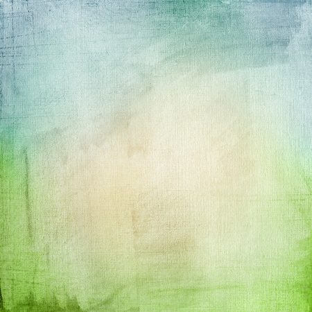 burnt paper: A paper spring  background with a blue-green gradient  Stock Photo