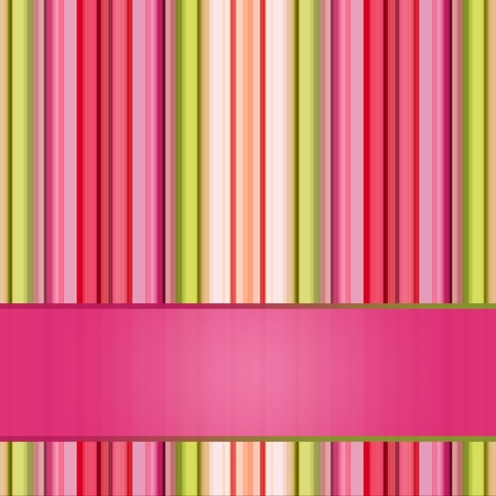 green lines: Retro striped background in pastel tones for your design