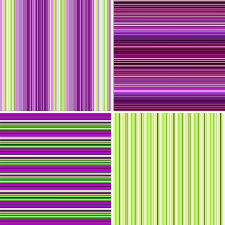 4 Retro striped backgrounds photo