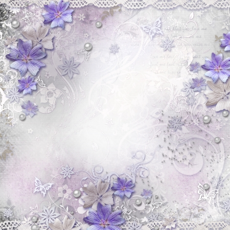 lavender flower: Spring background with flowers