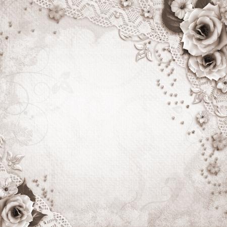 Elegance Hochzeit Hintergrund Standard-Bild - 14119546