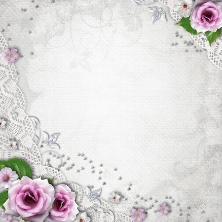 bodas de plata: La elegancia de fondo de la boda Foto de archivo