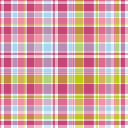 summer pink and blue candy pastel plaid  photo