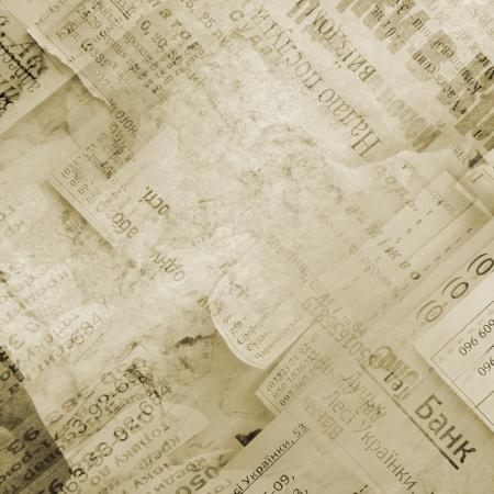 newspapers: abstracte achtergrond met gedrukte tekst