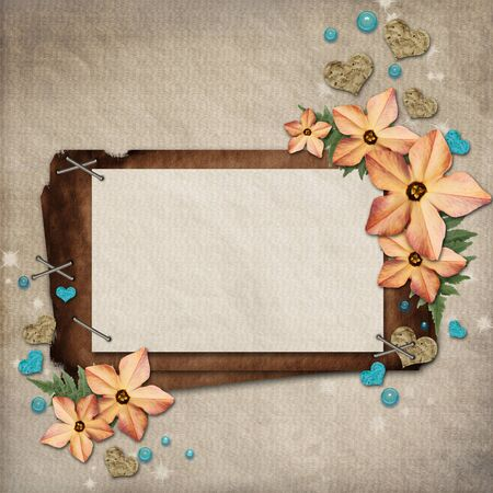 art piece: paper vintage background