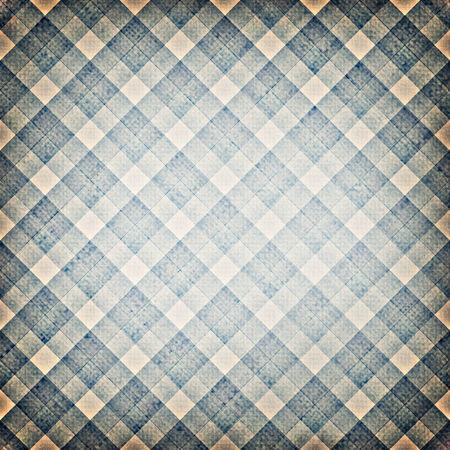 flannel: blue stripes plaid  Stock Photo